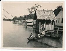 BRESIL c. 1930 - Sao Miguel Enfants dans Pirogue Amazone - 51