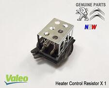 Peugeot 306 Partner Blower Motor Heater Control Resistor Genuine Valeo 6450P7