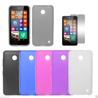 TPU Gel Silicone Soft Matte Jelly Grip Back Case Skin Cover For Nokia Models