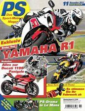 PS1111 + Test YAMAHA YZF-R1 (RN22) + Gebrauchtkauf YAMAHA YZF-R6 + PS 11/2011