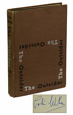 The Outsider by COLIN WILSON ~ SIGNED First Edition Early Printing 1956 ~ 1st US