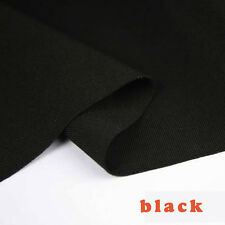 "Black stretchy spandex Fabric knitted fabric bathing suit Skirt fabric 60"" BTY"
