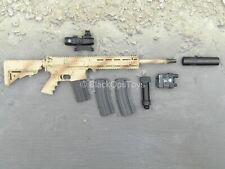 1/6 Scale Toy Phantom Modern Version - Desert AR-15 Rifle w/Attachment Set