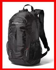 New Eddie Bauer 20L Stowaway Packable travel Daypack Back Pack ONYX BLACK bag @@