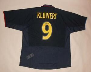AWAY SHIRT NIKE FC BARCELONA 2002-04 - KLUIVERT #9 (XL) Jersey Trikot Maillot