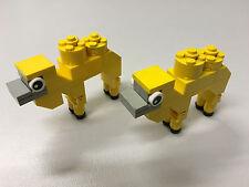 Lego 2x Kamele, Kamel, Tier, Tiere, animals, Bauernhof Lego City System Eigenbau