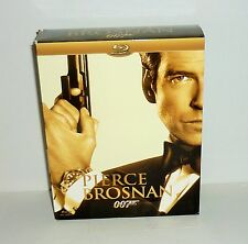 COFFRET 4 DVD VIDEO BLU-RAY PIERCE BROSNAN 007 JAMES BOND