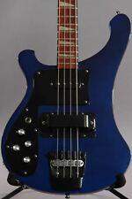 1995 Left Handed Rickenbacker 4003 Blue w/Black Binding ~Rare~
