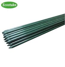Garden Stakes for Plants Vegetable Fence Post 3-Feet, 20 Pack, 0.27-Inch Dia