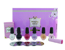 Konad Premium French Set-5 plates,4x11ml polish,top n base coat,corrector,stamp