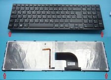 Tastatur SONY Vaio SVE1712V1E/B SVE1712V1EB SVE1712 Backlit Beleuchtet Keyboard