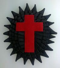 Templar Sir Knight Chapeau Cross with Rosette - Illinois Regulation (SKR-IL)
