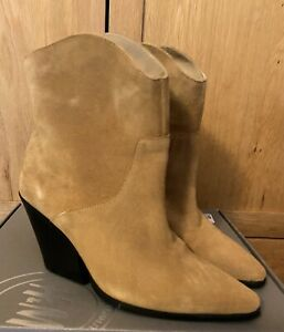 H&M Premium Line Suede Ankle Boots Worn Once Size: 6.5