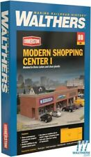 Walthers 933-4115 Modern Shopping Center I Kit HO Scale Train
