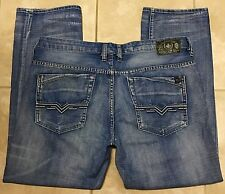 Buffalo David Bitton Evan Slim Stretch Mens Blue Jeans size 38x30 38 30