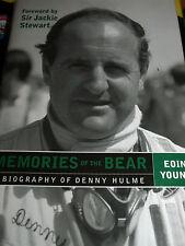 Denny Hulme recuerdos del Oso Brabham BT24 Maclaren M8A M19C M16A M14A puede am