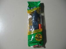 PEZ: dark blue Batman, green pack, dark blue stick, Brand New and Sealed