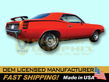1970 Plymouth Barracuda 'Cuda 318 340 383 440 HEMI Hockey Stick Decal Stripe Kit