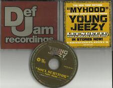 YOUNG JEEZY My Hood INSTRUMENTAL PROMO DJ CD single 05