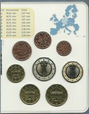 SET EURO GERMANIA 2010 FIOR DI CONIO UNC SET SIGILLATO ZECCA X 8 ZECCA G REGALO