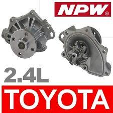 Toyota NPW WATER PUMP - MADE IN JAPAN JDM 2.4L All New