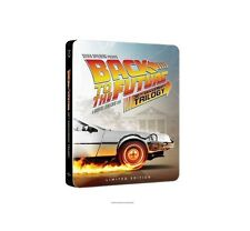 NEW BACK TO THE FUTURE 30th Anniversary Complete Trilogy Steelbook (4-disc Blu-r