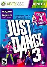 Just Dance 3 XBOX 360 Simulation (Video Game)