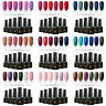 6 Colours/Set UV Nail Gel Polish Soak Off LED MTSSII Manicure Base Top Coat 6ml