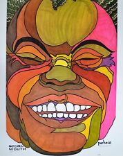 Ferdie Pacheco Signed Print Frank Zappa Art