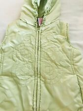 Kids Headquarters Stitched Vest Butterfly Light Green Size 3T