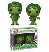 Funko Pop! AD Icons Green Giant and Sprout Metallic Target Exclusive 2 Pack