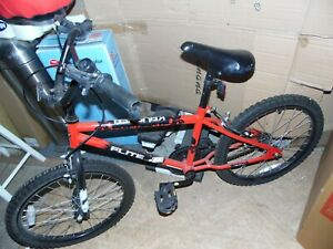 Flite BMX Bike 20 Inch Mens Boys Girls - Red/Black