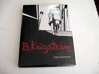 B. Krigstein by Greg Sadowski HC NEW!