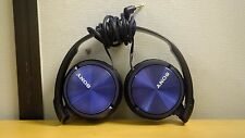 Sony MDR-ZX310 Foldable Overhead Headphones - Blue