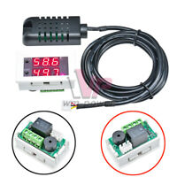 10A DC 12V Intelligent High Precision Hygrometer Digital Humidity Controller