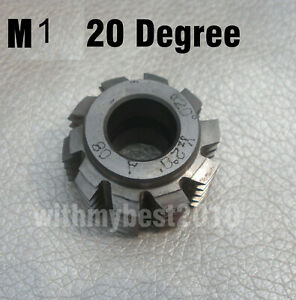 Gear Hob Cutter Module 1 bore 13mm 20 degree PA HSS M1 Gear Hob Cutter A