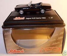 MICRO METAL DIE CAST SCHUCO HO 1/87 JAGUAR XJS CABRIOLET 1992 NOIRE IN BOX