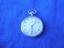 Swiss Made Pocket Watch Collectible Bucherer Incabloc Open Face