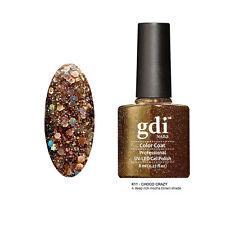 Diamond Glitter Nail GEL Polish by GDI Nails London UV LED Soak 8ml Post K11 - Choco Crazy