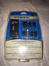 Dynex Universal Power Adapter AC Charger Cameras Camcorders DX-UA  NEW