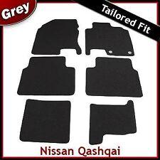 Nissan Qashqai +2 2008 - 2011 2012 2013 a Medida Alfombra Alfombrillas De Coche Gris Equipada