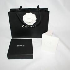 CHANEL Empty Box Gift Set Paper Bag Receipt Holder
