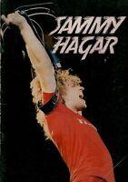 SAMMY HAGAR 1980 LOUD & CLEAR UK TOUR CONCERT PROGRAM BOOK / BOOKLET / GOOD 2 EX