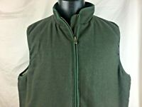 Scandia Woods Green Vest Men's Size XL Micro Fleece Lining