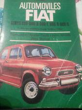 FIAT 600, Reparaciones, Ajustes, Puesta a punto, Afinado, Datos Técnicos. >1960