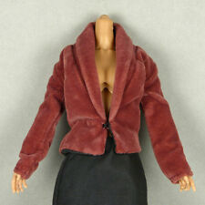 1/6 Scale Cy Girl, Kumik, ZC, TTL, Vogue - Female Petite Brown Velvet Jacket