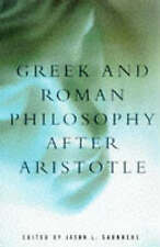 Greek and Roman Philosophy After Aristotle (Readings in the History of-ExLibrary