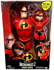 Incredibles 2 The Mrs Power Couple Feature Action Figure Stand Display Sounds