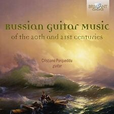 Russian Guitar Music-of the 20th+21st Centuries-Porqueddu, Cristiano 4 CD NUOVO