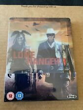 DISNEY THE LONE RANGER LIMITED EDITION BLU RAY STEELBOOK NEW & SEALED LENTICULAR